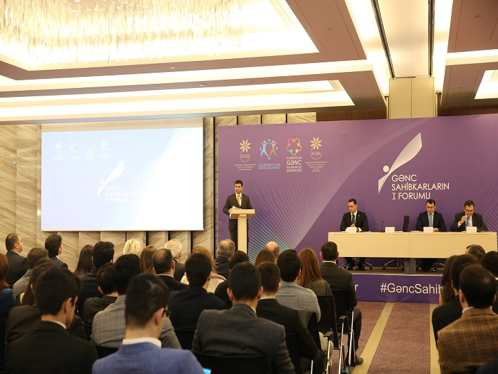 I Gənc Sahibkarlar Forumu keçirilib – FOTO