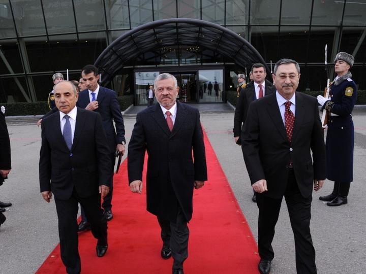 Завершился официальный визит Короля Иордании Абдаллы II в Азербайджан - ФОТО