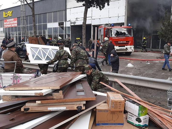 Названо окончательное число пострадавших во время пожара на рынке в Баку - ФОТО - ВИДЕО - ОБНОВЛЕНО