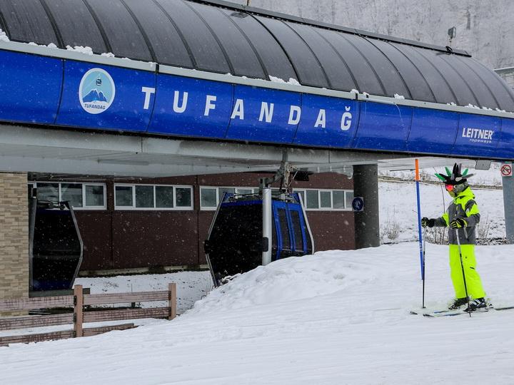 В Tufandag Mountain Resort начался горнолыжный сезон! - ФОТО
