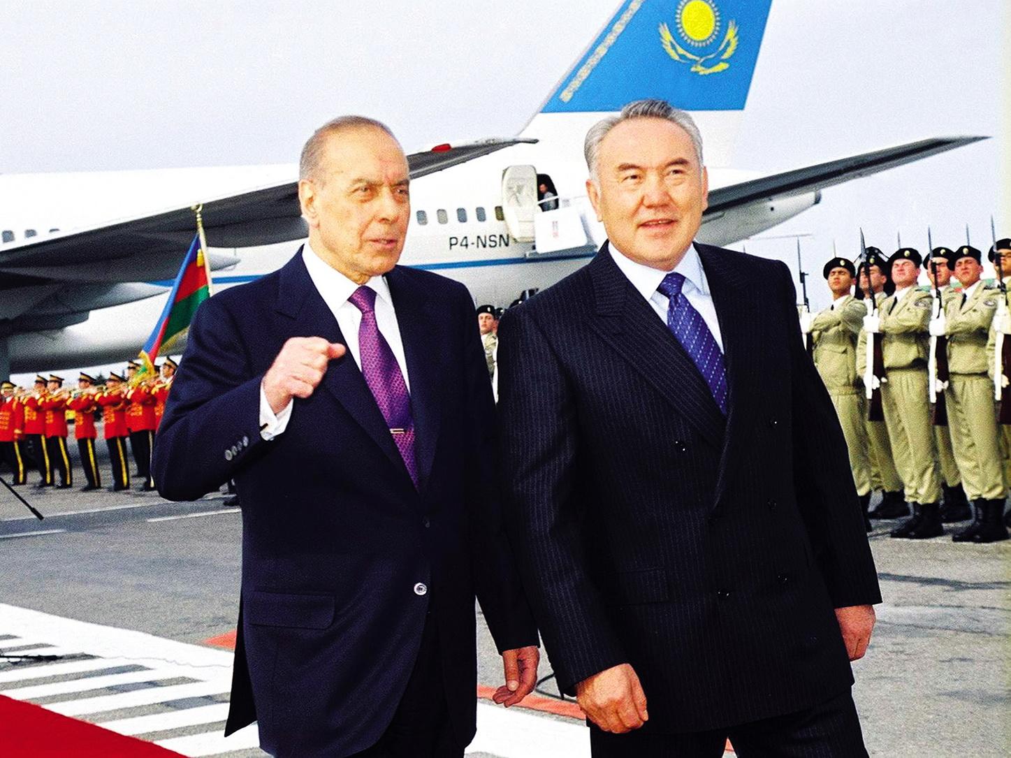 Нурсултан Назарбаев: Главное наследие Гейдара Алиева - страна, устремленная в будущее