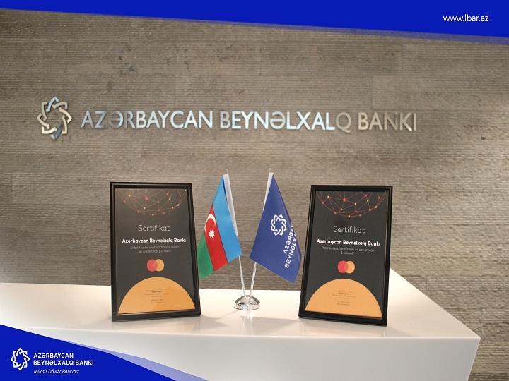 MasterCard Azərbaycan Beynəlxalq Bankına 2 mükafat verdi