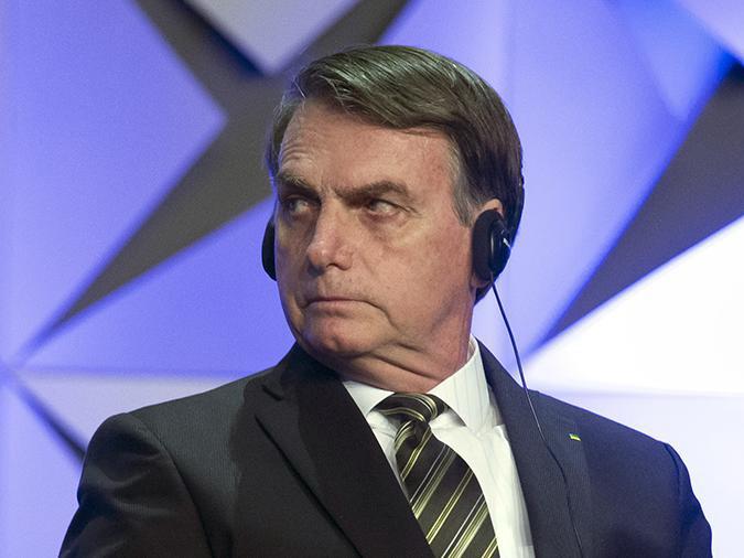 Президент Бразилии предположил у себя наличие рака