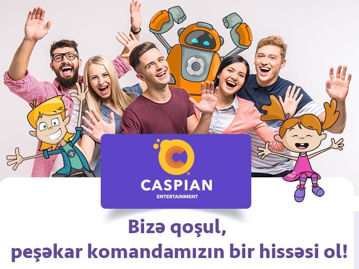Caspian Entertainment Сompany – istedadlı gənclərin axtarışındadır!