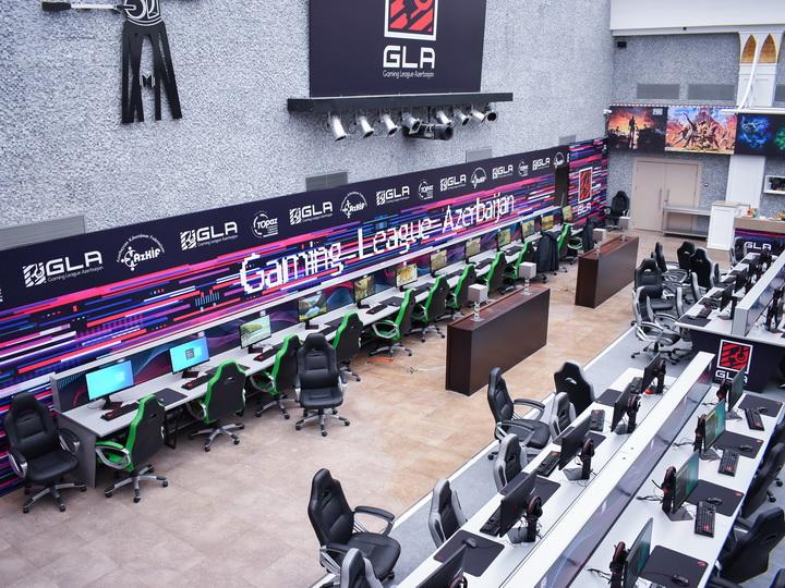 Рай для киберспортсменов: В Баку открылась Nizami E-Sports Arena - ФОТО
