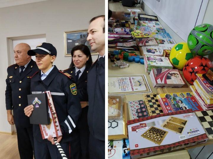 Дорожная полиция Баку подарила праздник детям-сиротам - ФОТО - ВИДЕО