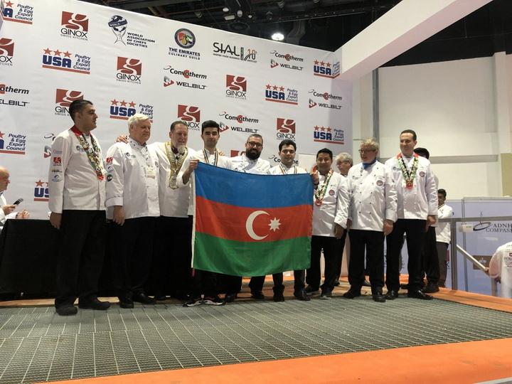 Азербайджан завоевал 1 серебряную и 5 бронзовых медалей на континентальном чемпионате в Абу-Даби - ФОТО