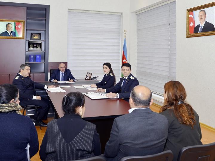 Закир Гаралов принял граждан в Сумгайыте