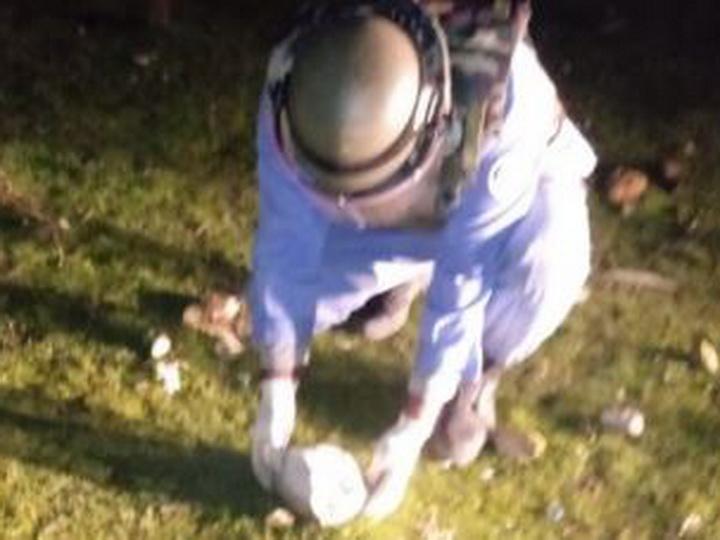 Вблизи Баку обнаружены ручная граната и взрывное устройство - ФОТО