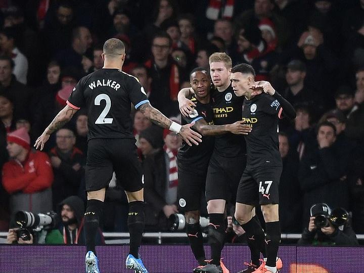 «Манчестер Сити» разгромил «Арсенал» в матче АПЛ - ВИДЕО