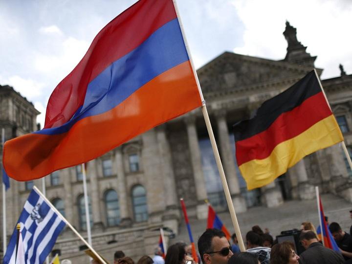Faşizmi qəhrəmanlaşdıran Ermənistanın Almaniyanın radikal sağçı partiyası ilə əməkdaşlığı
