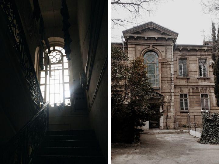 Необычные здания в Баку: Википедия об этом месте ничего не рассказывает, нам рассказали жители… - ФОТО