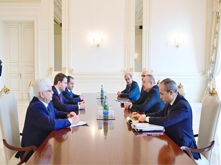 İlham Əliyev Rusiyanın İqtisadi İnkişaf nazirini qəbul edib – YENİLƏNİB