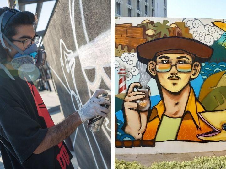 Street art: Кто они – создатели граффити на бакинских стенах? - ФОТО
