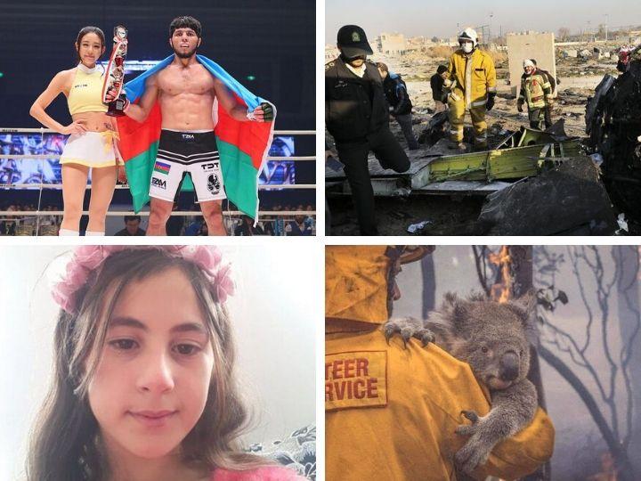 Главное за неделю: убийство 10-летней девочки в Товузе, американо-иранская эскалация, рухнувший украинский самолет и многое другое – ФОТО