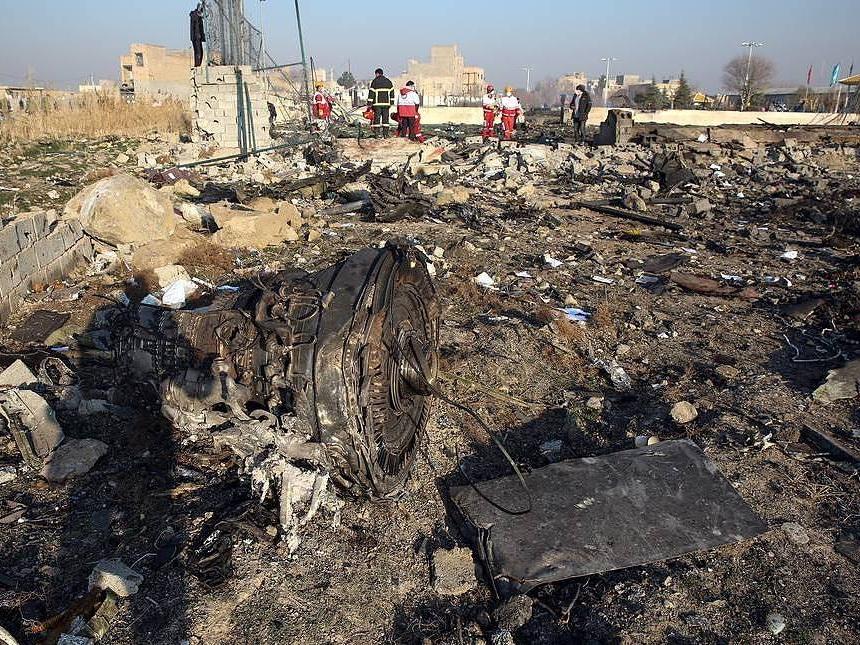 По делу о крушении самолета в Иране арестовали несколько человек