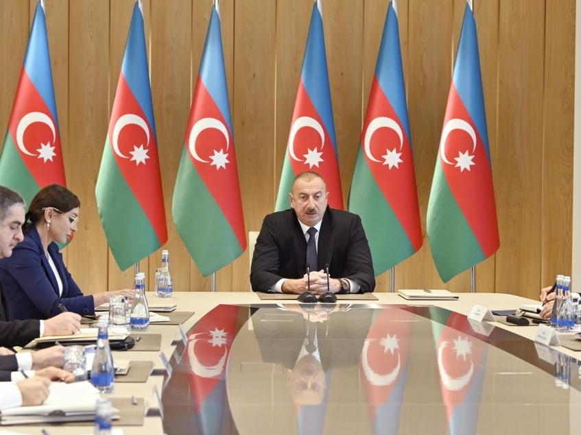При Президенте Ильхаме Алиеве состоялось совещание, посвященное итогам 2019 года - ФОТО - ВИДЕО