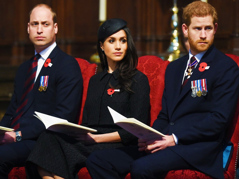 Принцы Гарри и Уильям прокомментировали новости насчет своей вражды из-за Меган Маркл – ФОТО
