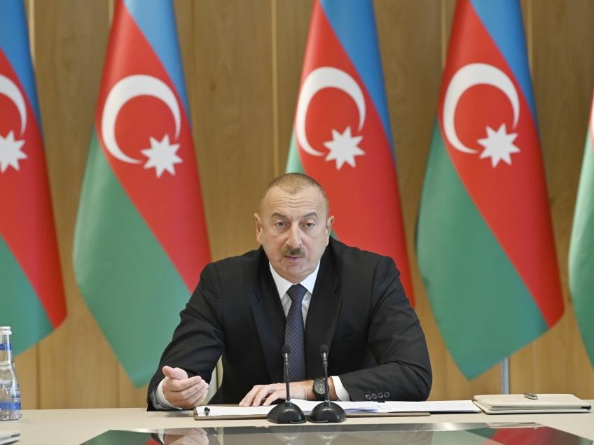 Президент Ильхам Алиев: Гражданам необходимо знать, что дома, имущество должны быть застрахованы
