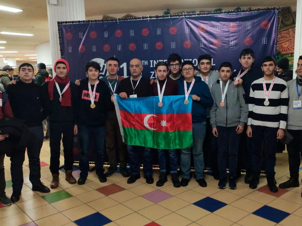 Первый успех азербайджанских школьников в 2020 году на Международной олимпиаде - ФОТО