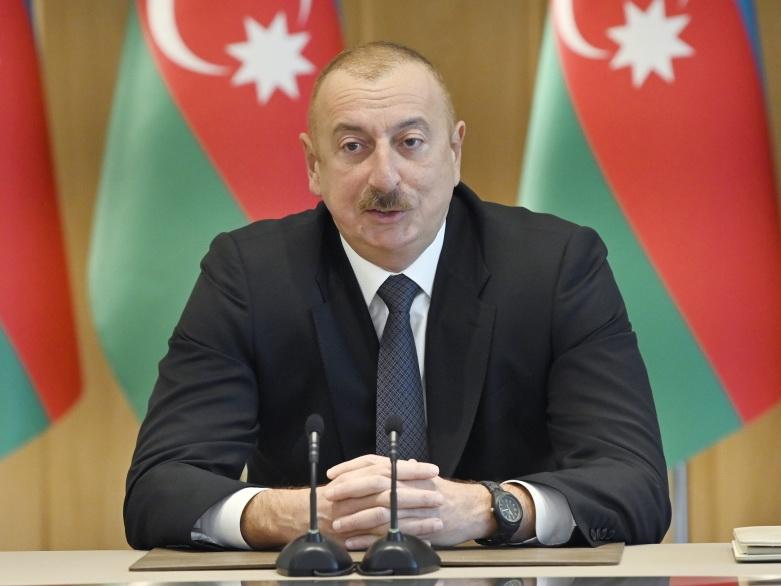 Ильхам Алиев: Азербайджан находится в высшей лиге, а Армения – в третьей лиге, и с каждым разом эта разница будет увеличиваться