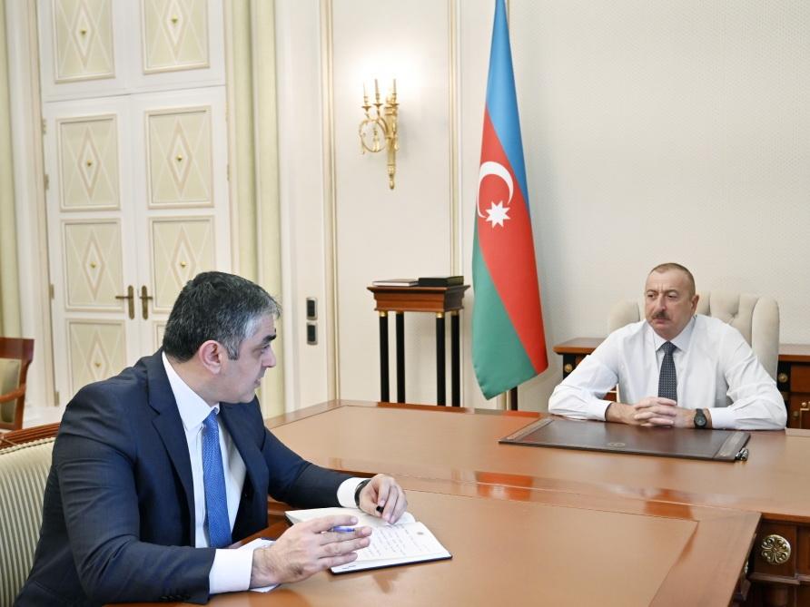 Президент Ильхам Алиев: Азербайджан превратился в один из международных евразийских транспортных центров - ФОТО