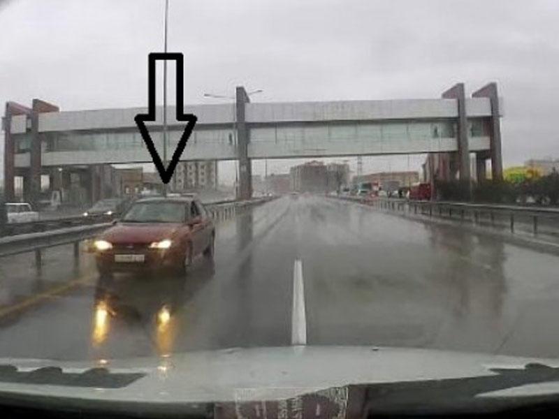 Задержан водитель, ехавший по «встречке» на трассе Баку-Сумгайыт - ВИДЕО