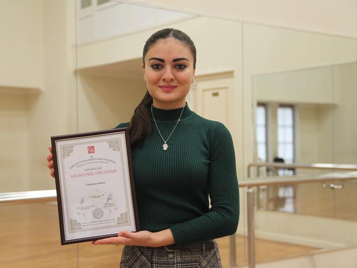 Азербайджанская актриса удостоена Гран-при международного конкурса – ФОТО
