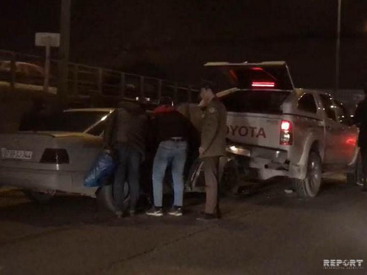 В Баку произошла цепная авария с участием 5 автомобилей - ВИДЕО