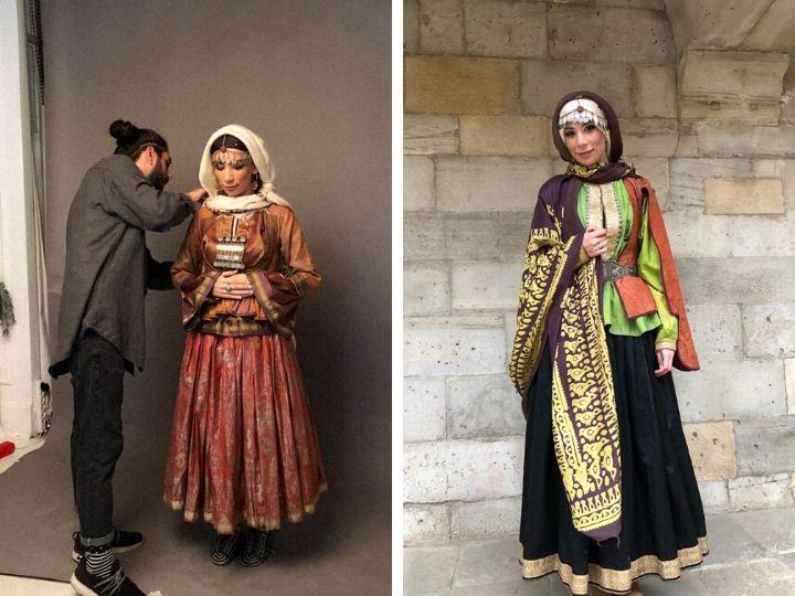 «Миражи прошлого»: Именно так выглядела бакинка в XIX столетии – ФОТО - ВИДЕО