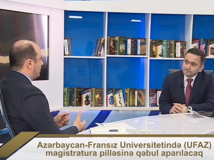 Новый выпуск программы Təməl посвящен приему в магистратуру Азербайджано-Французского университета - ВИДЕО