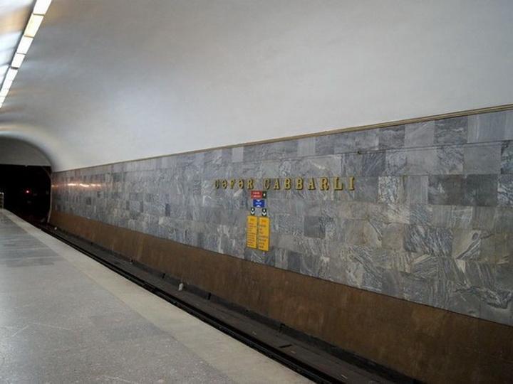 В этом году откроют новую платформу одной из станций Бакметрополитена
