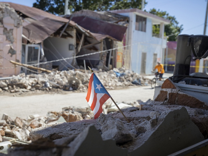 В Пуэрто-Рико около 20 тысяч человек покинули дома из-за землетрясений