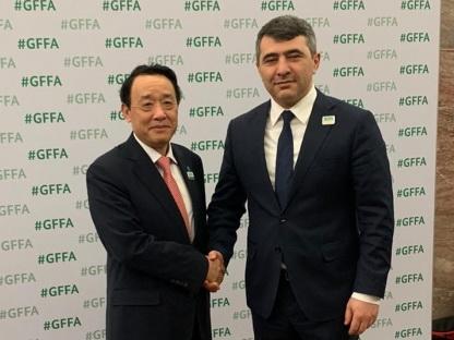 Генеральный директор ФАО: Азербайджан должен поделиться опытом ЭКТИС с другими странами