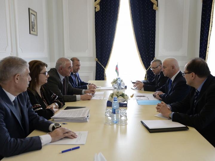 Председатель Центральной избирательной комиссии встретился с делегацией наблюдательной миссии СНГ
