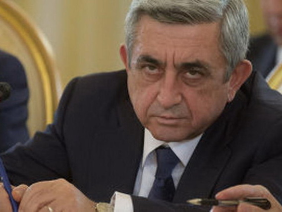 Завершено расследование дела в отношении Сержа Саргсяна