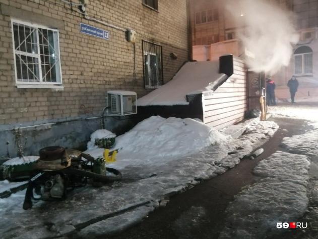 В Перми в отеле людей обварило кипятком – есть погибшие