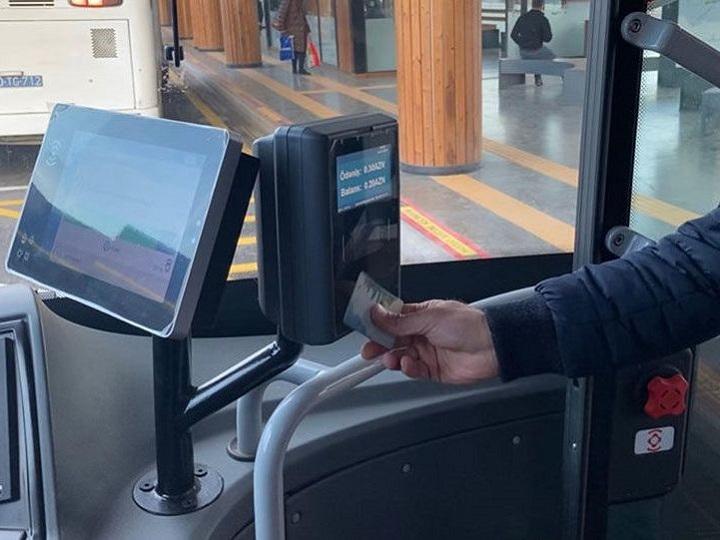 """Bu avtobuslar da """"BakıKart"""" sisteminə keçəcək"""