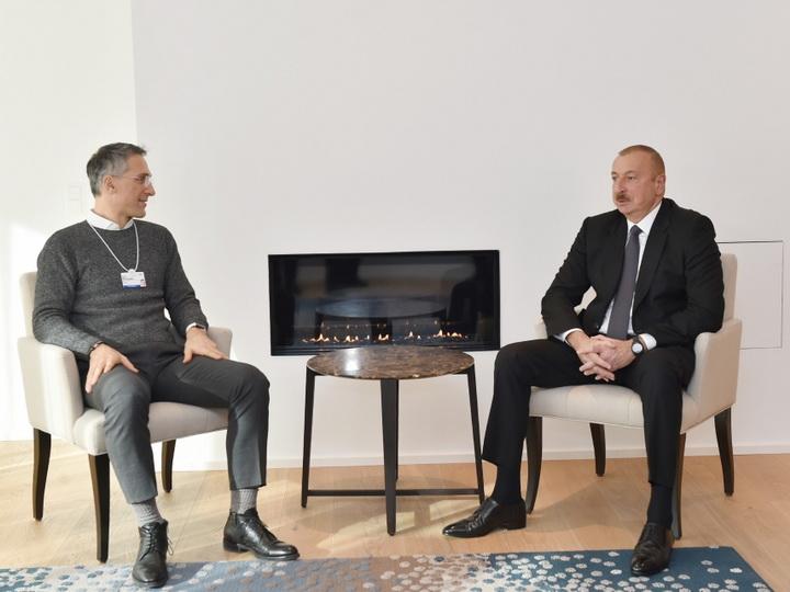 На встрече с генеральным исполнительным директором компании Signify был обсужден вопрос поставок новых технологий в Азербайджан - ФОТО