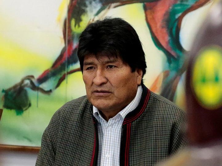 Парламент Боливии принял отставку Эво Моралеса