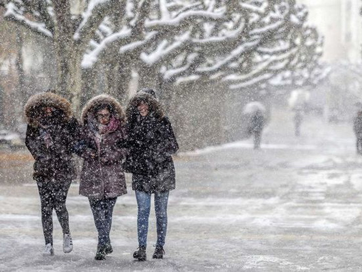 В Баку выпадет первый снег