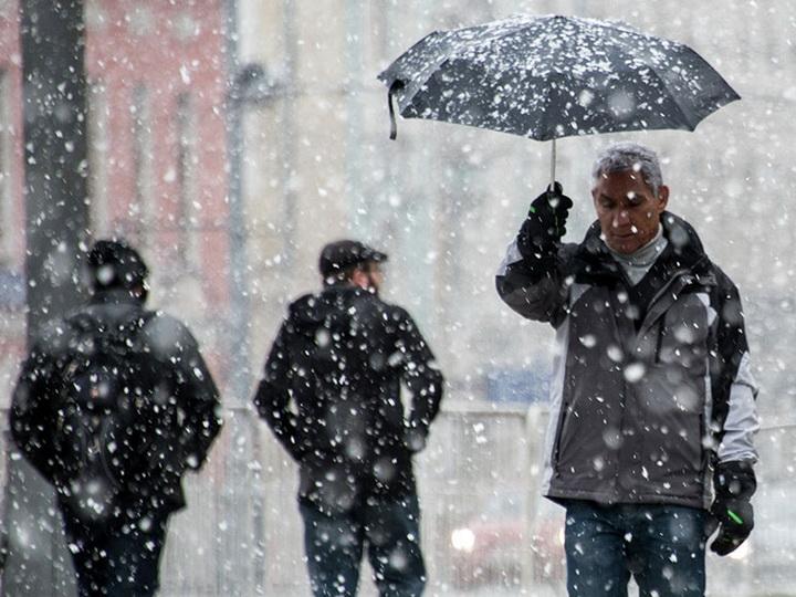 В пятницу в Баку ожидаются дождь и мокрый снег