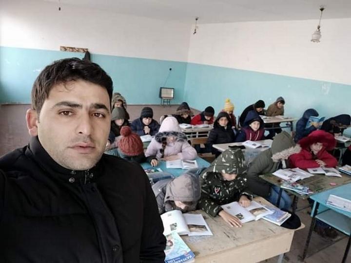 Село в Азербайджане, где дети вынуждены учиться в тяжелых условиях