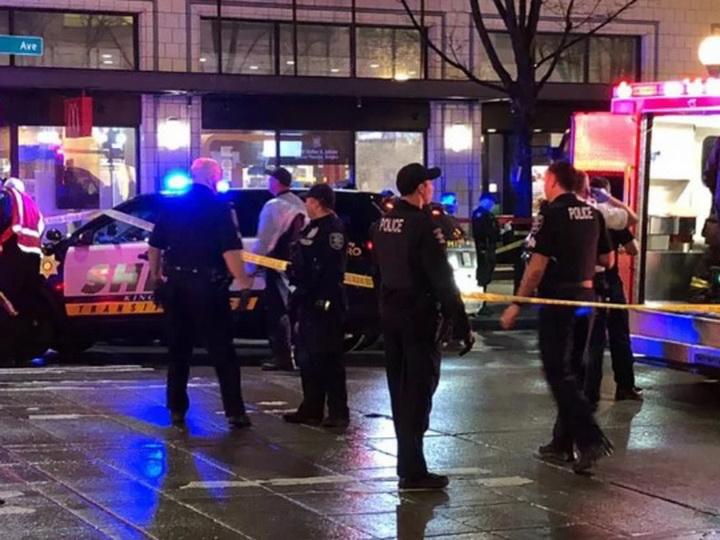 В центре Сиэтла произошла стрельба - ВИДЕО