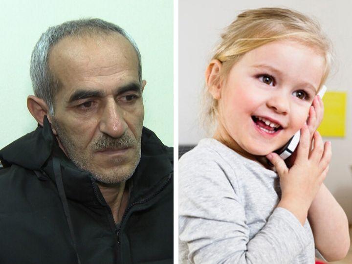В Баку мужчина выхватил у двухлетнего ребенка телефон - ФОТО