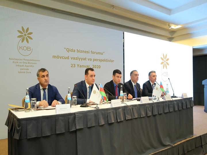 KOBİA yanında İctimai Şuranın növbəti forumunda qida biznesi məsələləri müzakirə edilib – FOTO