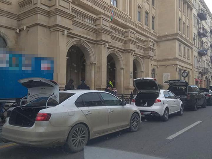 Водители, скрывшие номера автомобилей, оштрафованы на 500 манатов - ОБНОВЛЕНО