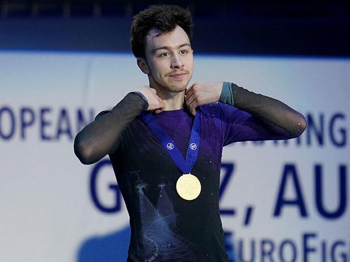 Азербайджанец принес России золото чемпионата Европы по фигурному катанию
