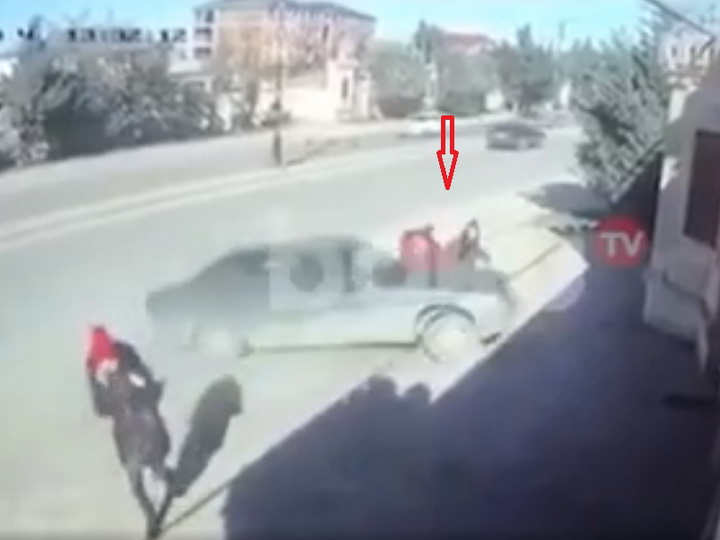 Задержан водитель, сбивший двух школьниц в Хырдалане - ФОТО - ВИДЕО - ОБНОВЛЕНО