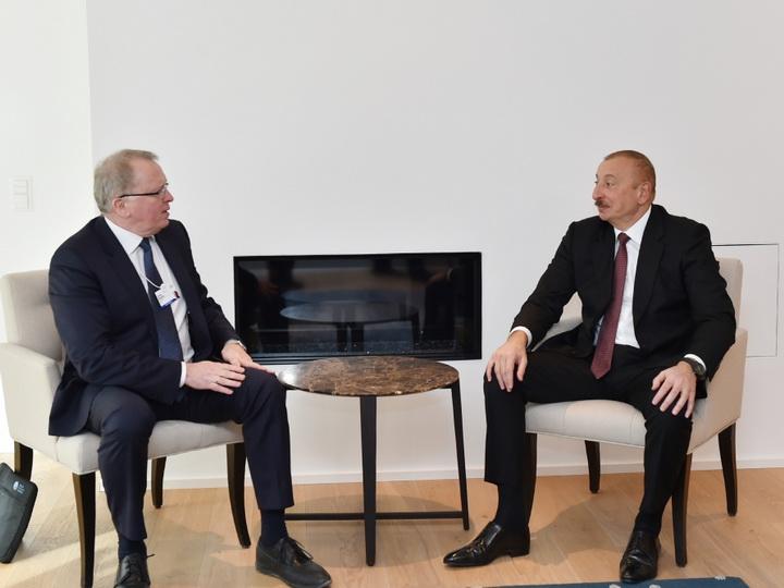 Президент Ильхам Алиев встретился с исполнительным директором компании Equinor - ФОТО